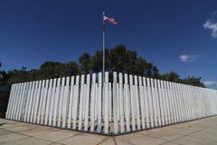 Uss conmemorativos Arizona del Pearl Harbor Imágenes de archivo libres de regalías