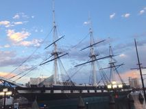 USS Constellation arkivfoton