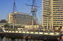 USS Constellation, Baltimore, Maryland Stock Images