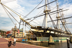 Free USS Constellation Docked In Baltimore Stock Photo - 96223810