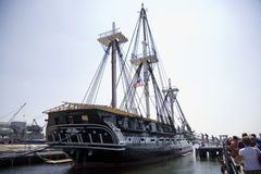 USS Constitution 7141 Royalty Free Stock Photo