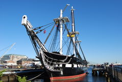 USS Constitution royalty free stock image