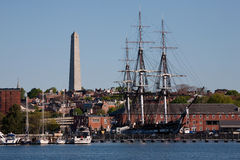 USS Constitution historic ship Stock Photography