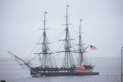 USS Constitution Historic Ship Stock Image