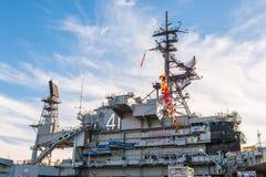 USS det halvvägs museet är ett maritimt museum royaltyfri foto