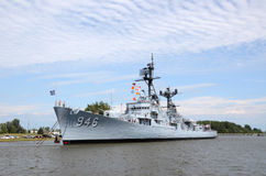 USS Edson a Bay City, MI 2016 Fotografia Stock