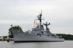 USS Edson i Bay City, MI 2016 Royaltyfri Foto
