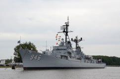 USS Edson w Podpalanym mieście, MI 2016 Zdjęcie Royalty Free