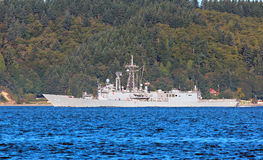 USS Ford Naval Ship Royalty Free Stock Photography