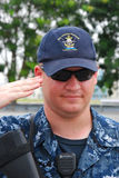 USS Freedom Soldier Royalty Free Stock Photo