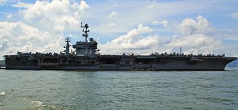 USS George Washington Fotos de archivo