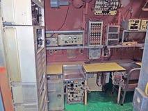 USS Growler:  Radio Room Stock Photos