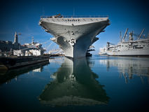 USS Hornet Stock Photography