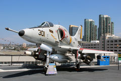 USS intermédiaire, San Diego photo stock