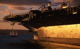 USS intermediário imagem de stock royalty free