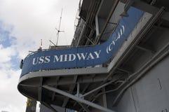 USS intermediário foto de stock