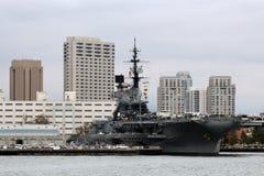 USS intermediario, San Diego Foto de archivo