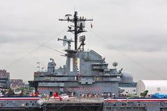 USS Intrepid royalty free stock photos