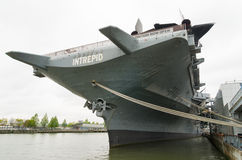 USS intrepid aircraft carrier Royalty Free Stock Image