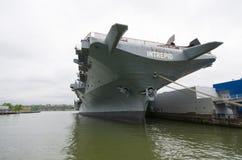 USS intrepid aircraft carrier Stock Photos