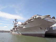 USS Intrepid: Aircraft Carrier Royalty Free Stock Photos