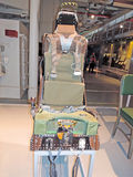 USS Intrepid: Ejection Seat Royalty Free Stock Photos