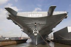 USS Intrepid in New York Stock Photos