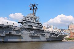 USS Intrepid, New York Royalty Free Stock Image
