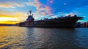 USS intrepido Immagini Stock Libere da Diritti