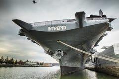 USS intrepido Fotografia Stock Libera da Diritti
