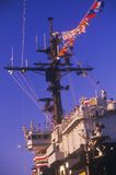 USS Kennedy Aircraft Carrier, Royalty Free Stock Photography