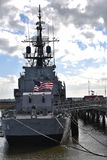 USS Laffey разоритель Второй Мировой Войны стоковое фото rf