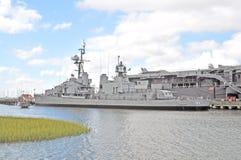 USS Laffey 图库摄影