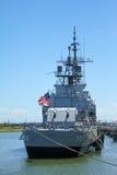 USS Laffey, patriotpunkt, monterar angenämt, SC Arkivbilder