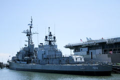 USS Laffey, Patriots Point, Mount Pleasant, SC. Royalty Free Stock Images