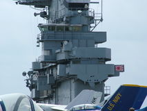 USS Lexington in Corpus Christi, Texas USA Lizenzfreie Stockbilder