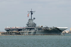 USS Lexington, Corpus Christi, TX Stock Photography