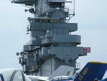 USS Lexington em Corpus Christi, Texas EUA Imagens de Stock Royalty Free