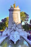 USS Maine Monument - New York City Stock Image