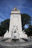 USS Maine National Monument i Central Park Fotografering för Bildbyråer