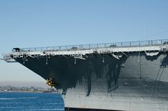 USS Midway. The  USS Midway, which is a museum now in San Diego,CA Stock Photo