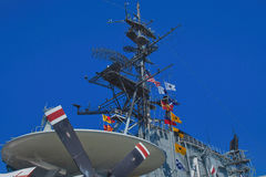 USS Midway Aircraft Carrier, San Diego, California Stock Photos