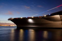 USS Midway Stock Image