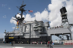 USS Midway. An image of the USS Midway in San Diego California stock photo