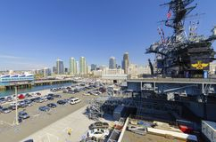 USS Midway Museum, San Diego Stock Images