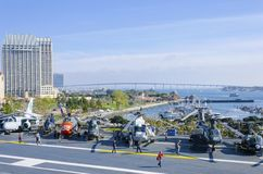 USS Midway Museum, San Diego Royalty Free Stock Photo