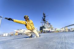 USS Midway Museum, San Diego royalty free stock image