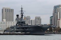 USS Midway, San Diego Zdjęcie Stock