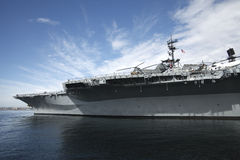 USS Midway San Diego California. Navy museum in San Diego California Royalty Free Stock Photo