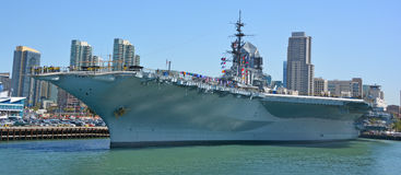 USS Midway Stock Photo
